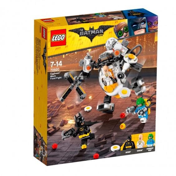LEGO Batman Movie Guerra de Comida Contra el Robot de Cabezahuevo - 70920
