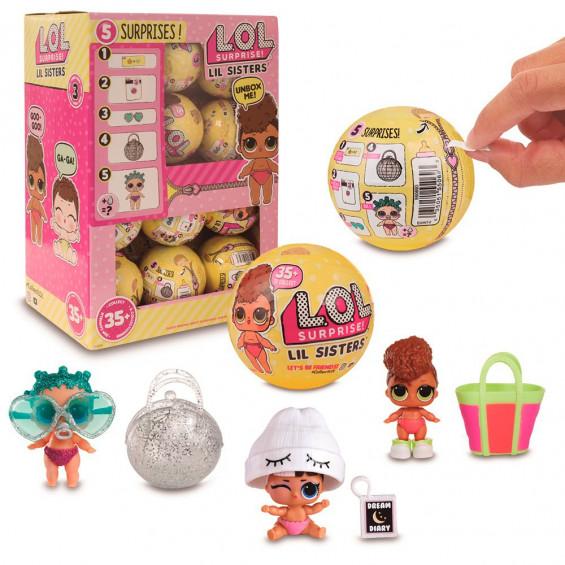 L.O.L. Lil Sisters S3 1 Bola Varios Modelos