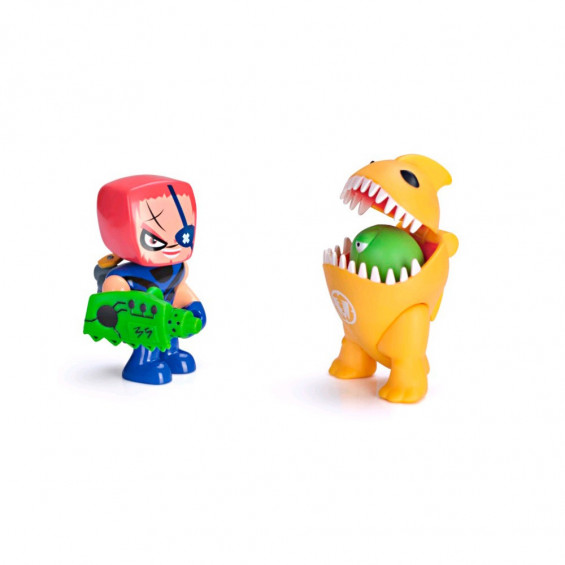 Mutant Busters Tierra Action Pack Serie 2 - Brutux y Tragator