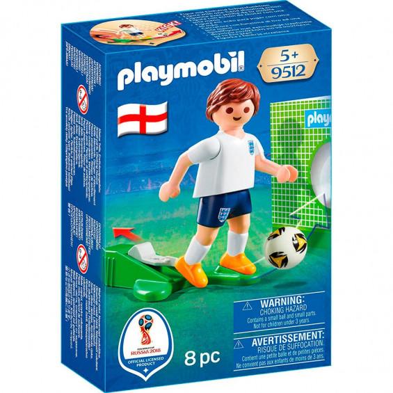 Playmobil Sports & Action Jugador Fútbol Inglaterra