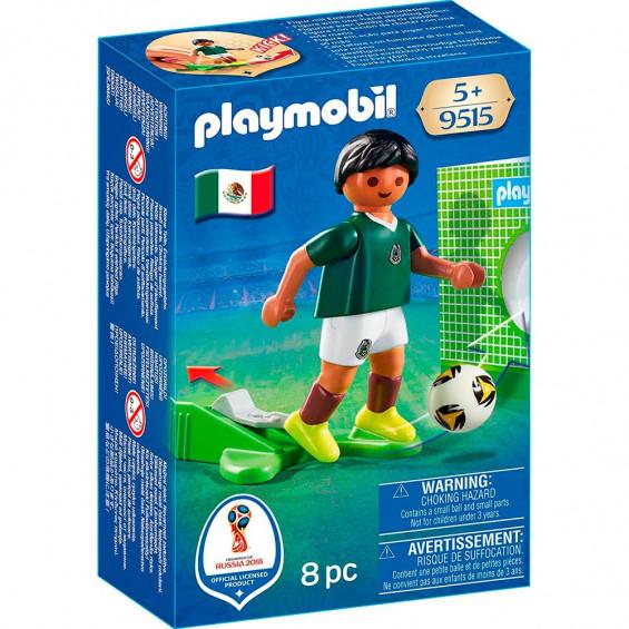 Playmobil Sports & Action Jugador Fútbol México