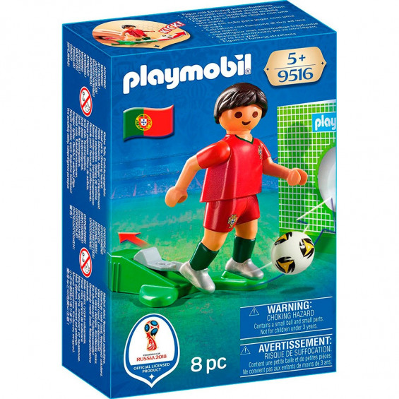Playmobil Sports & Action Jugador Fútbol Portugal