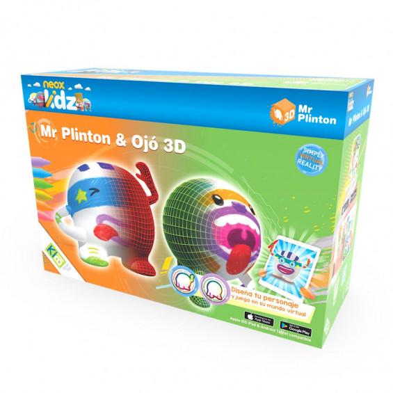 KIBI Mr. Plinton 3D y Ojo 3D