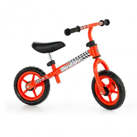 Molto Bicicleta Roja con Casco