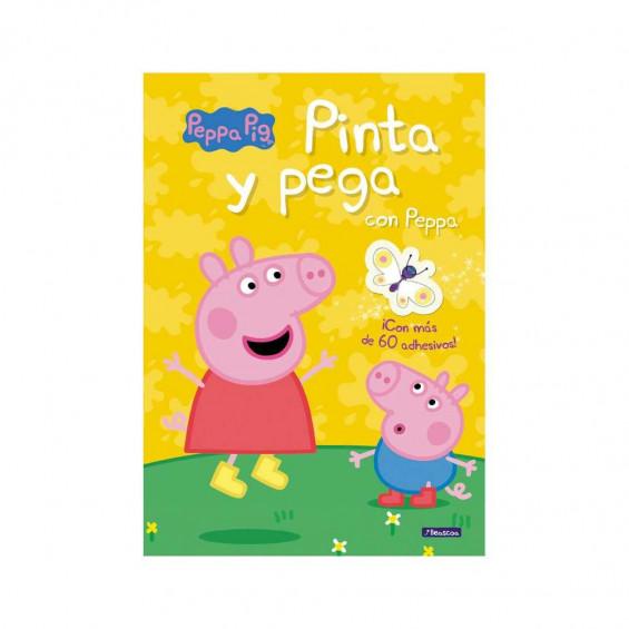 Peppa Pig Libro Pinta y Pega con Peppa