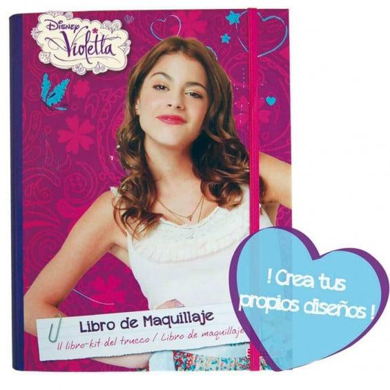 Violetta Cuaderno Maquillaje