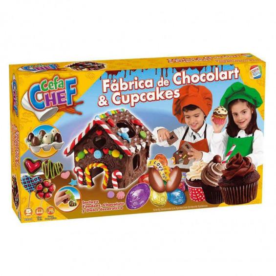 Cefa Chef Fábrica Choco y Cupcakes