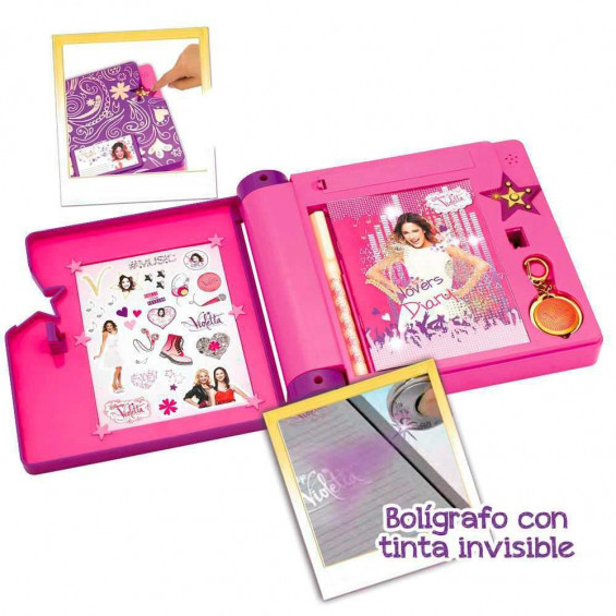 Violetta Diario Secreto Musical 3ª Temporada