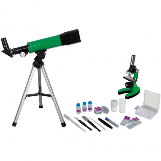Scientific Tools Telescopio Refractor y Microscópico