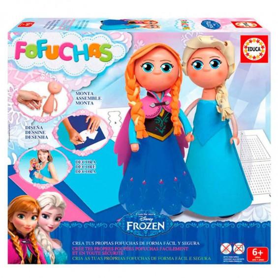 Fofuchas Frozen Elsa y Anna