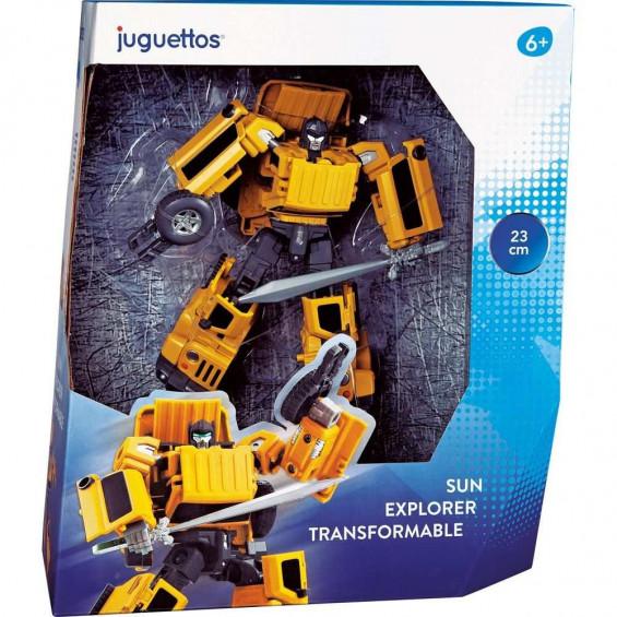 Juguettos Sun Explorer Transformable