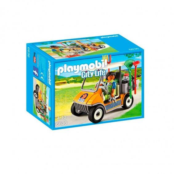 Playmobil City Life Carrito de Zoo - 6636