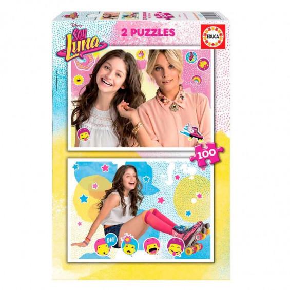 Puzzle Soy Luna 2x100 Piezas