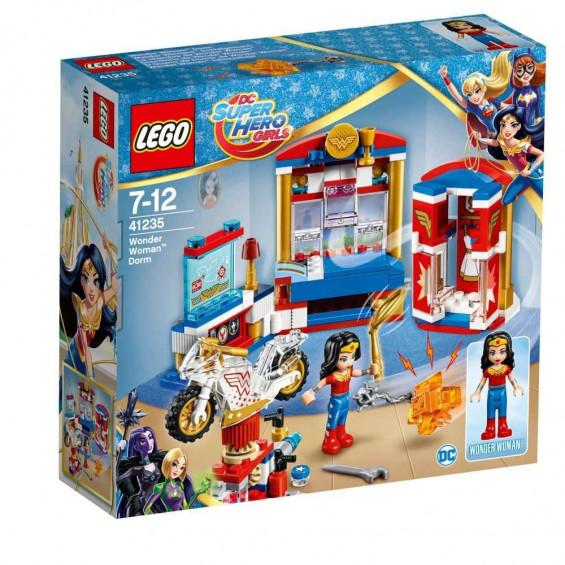 LEGO DC Super Hero Girls Dormitorio de Wonder Woman - 41235