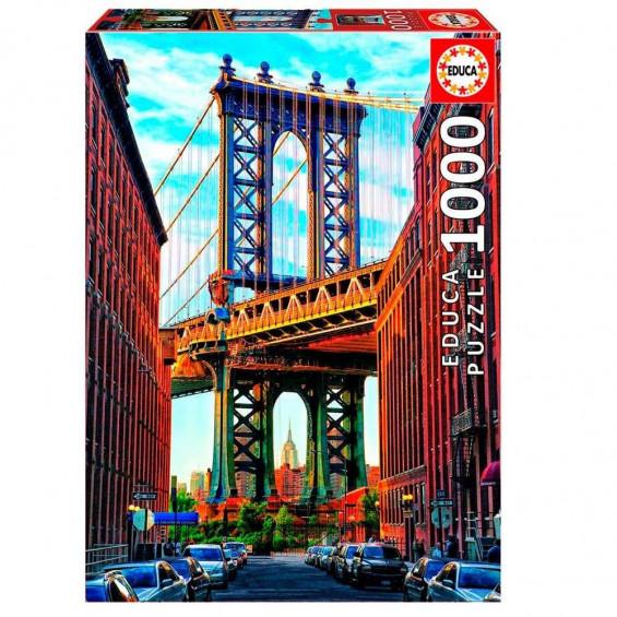 Puzzle Puente De Manhattan Nueva York 1000 Piezas