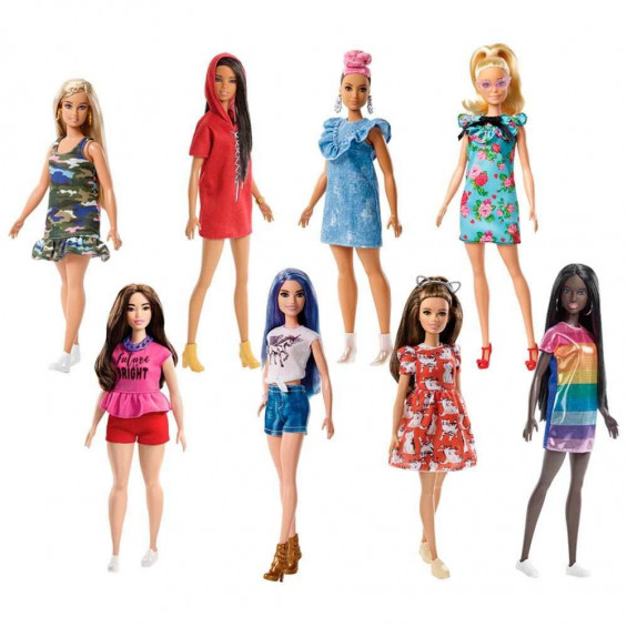 Barbie Fashion & Beauty Muñecas Fashionistas Varios Modelos