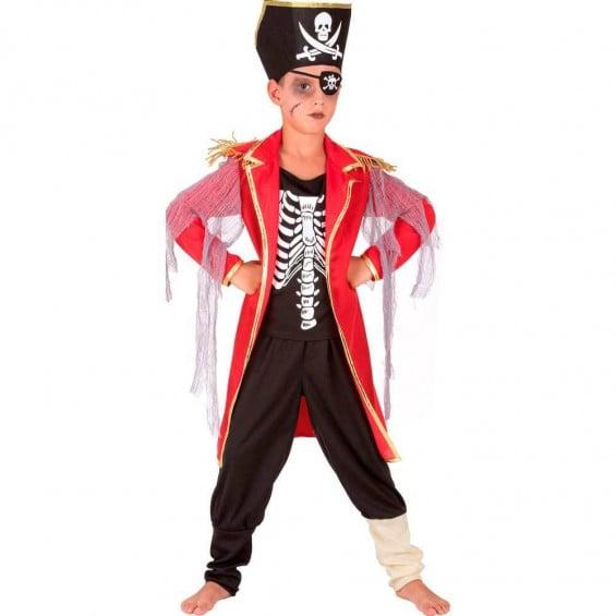 Disfraz Niño Pirata Talla S