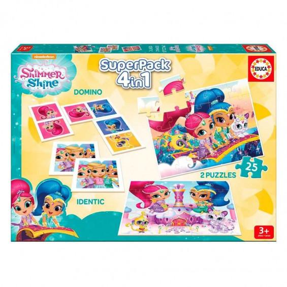 Shimmer & Shine Educa Superpack