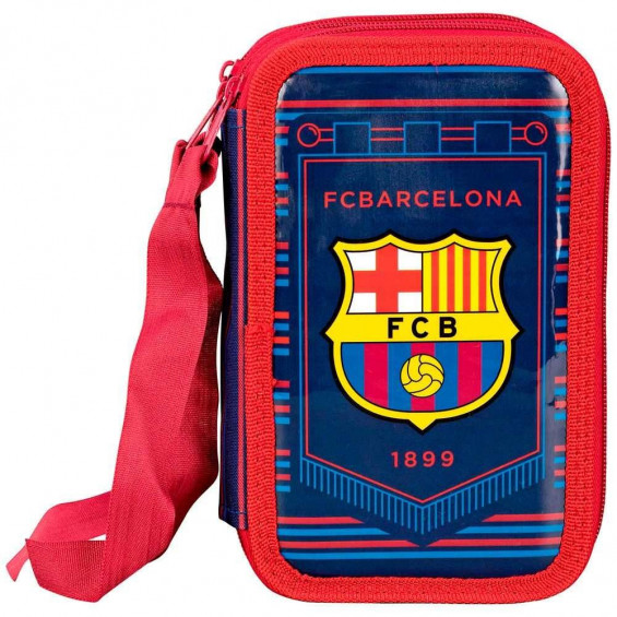 F.C. Barcelona Plumier Triple