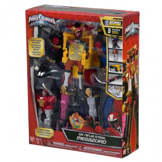 Power Rangers Ninja Steel Megazord