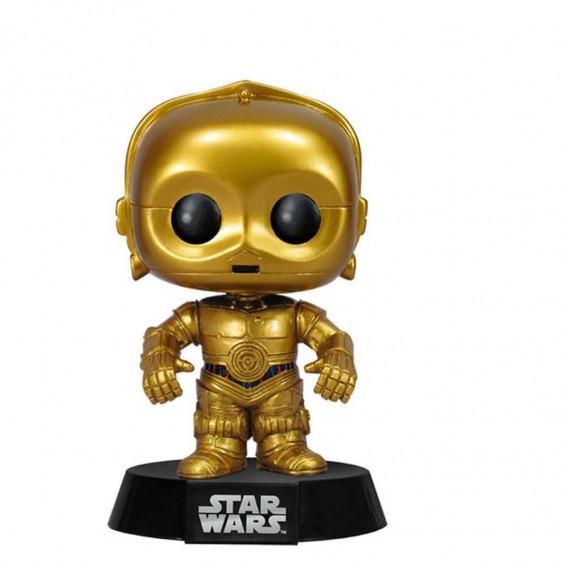 Funko Pop! Star Wars Figura de Vinilo C-3PO