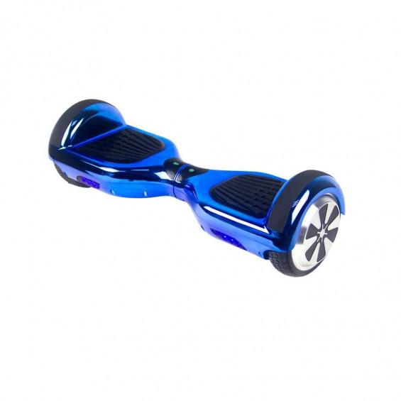 Skateflash K6 Chrome Azul Bluetooth + Bolsa de Transporte