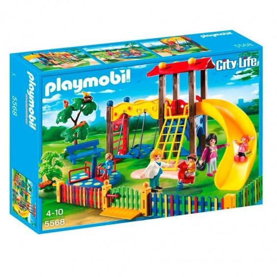Playmobil City Life Zona de Juegos Infantil - 5568
