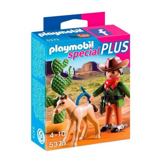 Playmobil Vaquero con Potro - 5373