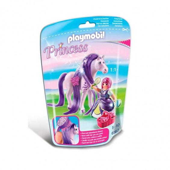 Playmobil Princess Princesa Viola Con Caballo - 6167