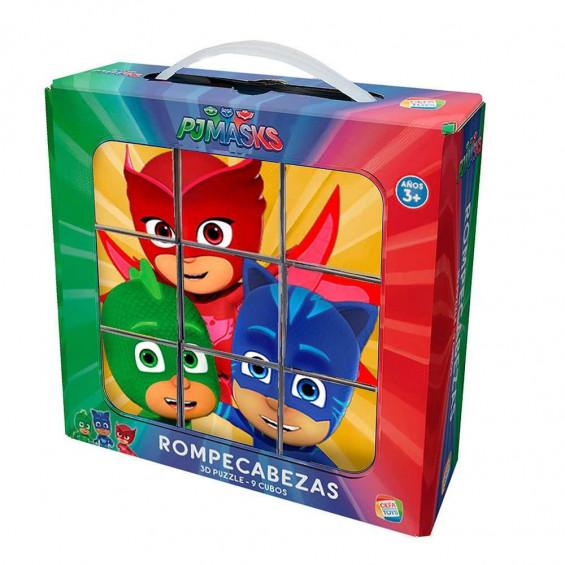 Rompecabezas 9 Cubos PJ Mask