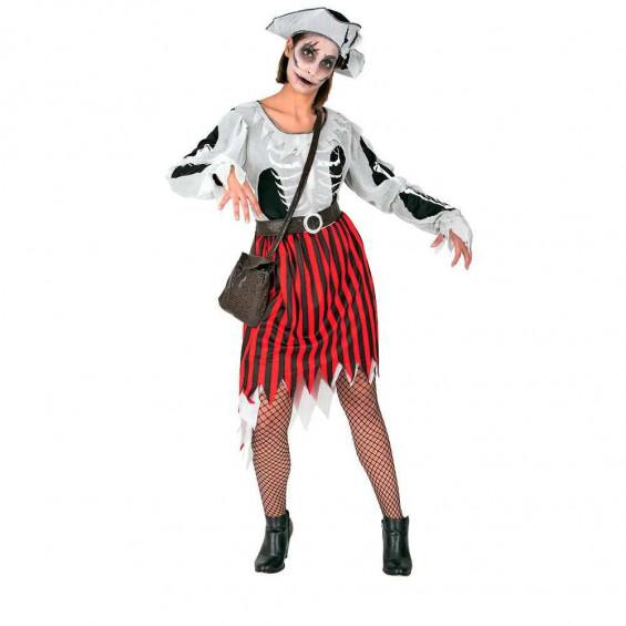 Disfraz Mujer Pirata Tenebrosa