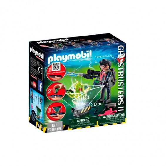 Playmobil Ghostbusters Cazafantasmas Egon Spengler - 9346