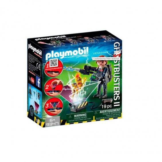 Playmobil Ghostbusters Cazafantasmas Peter Venkman - 9347