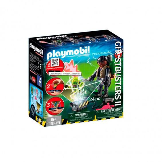 Playmobil Ghostbusters Cazafantasmas Winston Zeddemore - 9349