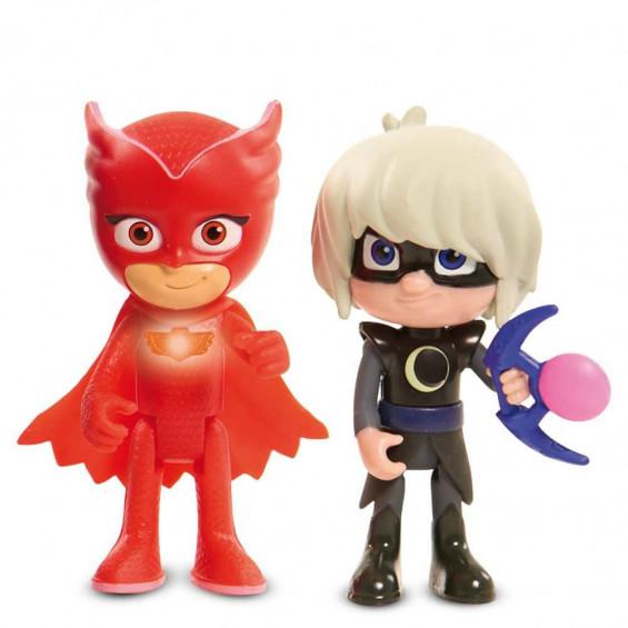 PJ Masks Figura Luz Buhita & Villano