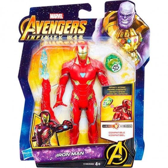 Marvel Avengers Figura 15 Cm Con Gema Y Accesorio Varios Modelos