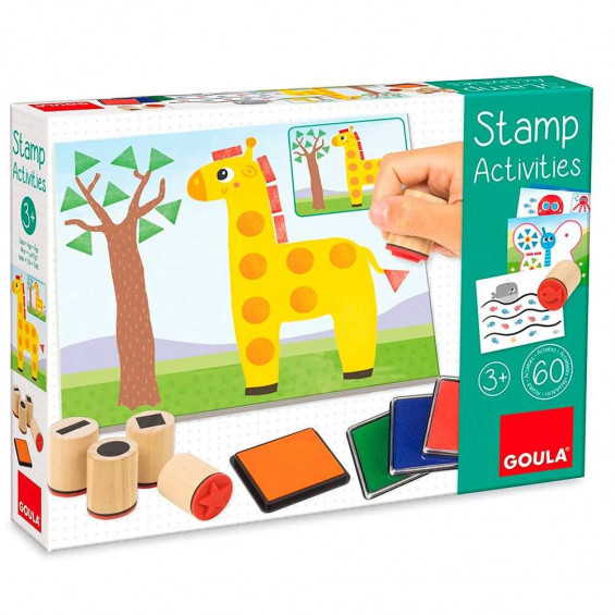 Goula Puzzle Stamp Activities