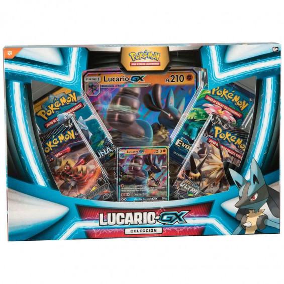 Pokémon Caja Colección Lucario-GX