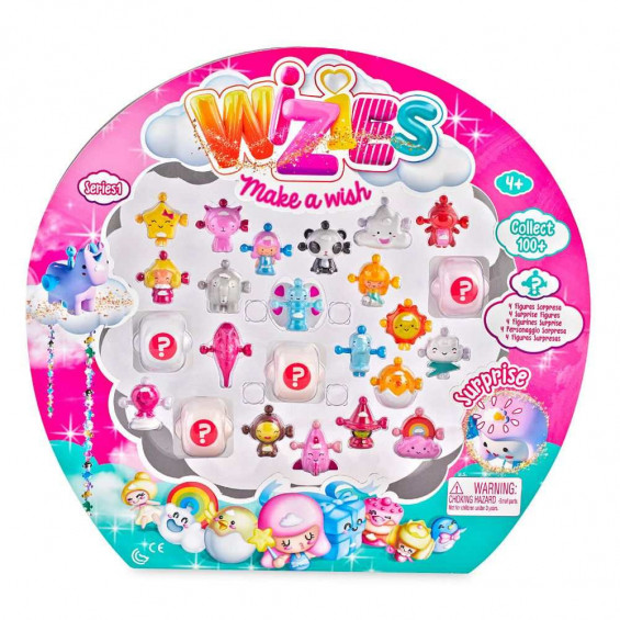 Ziwies Pack de 24 Figuras