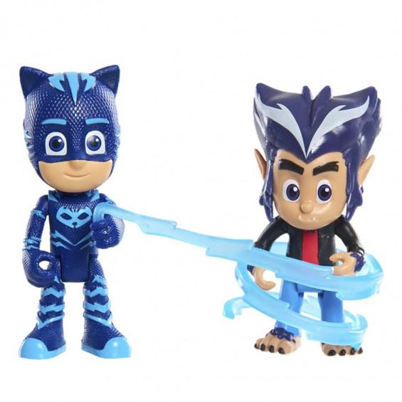 PJ Masks Figuras con Luz y Villano