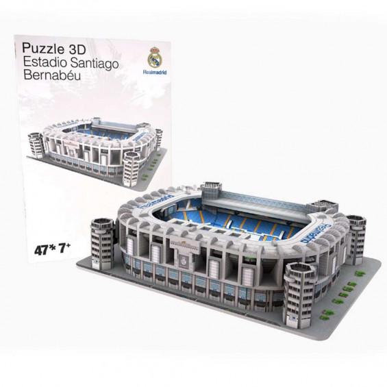 Nanostad 3D Puzzle Real Madrid Mini Versión