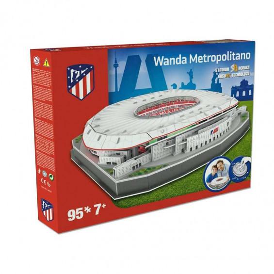 Puzzle 3D Nanostad Atlético de Madrid Wanda Metropilitano