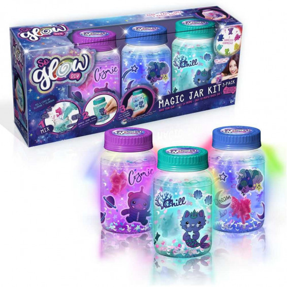 So Glow Magic Jar 3 Pack