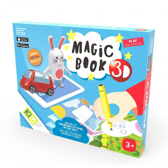 KIBI Magic Book 3D