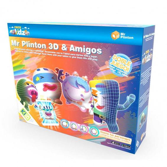 KIBI Mr. Plinton 3D  y Amigos