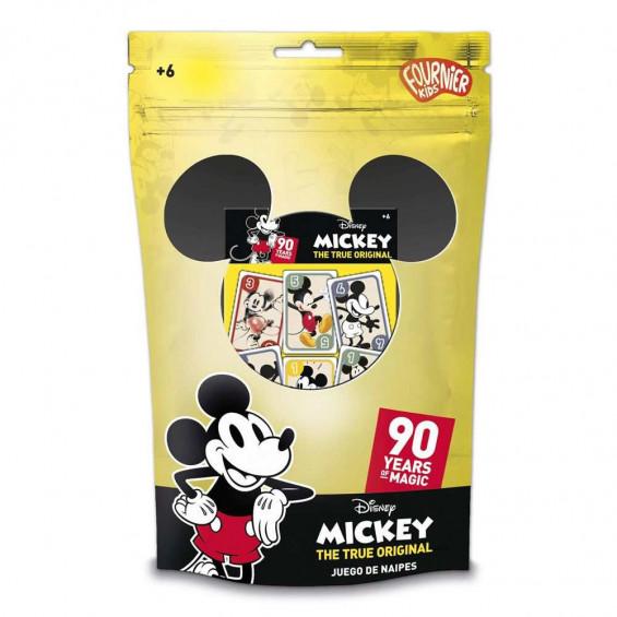 Mickey Mouse 90 Aniversario Naipe Infantil