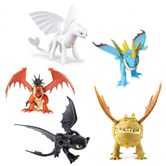 Dragones de Berk 3 Dragón Articulado Deluxe Varios Modelos