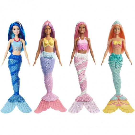 Barbie Dreamtopía Sirenas Varios Modelos