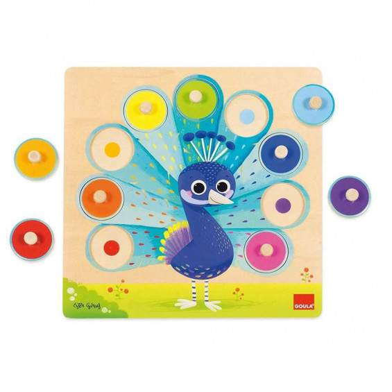 Goula Puzzle Pavo Real