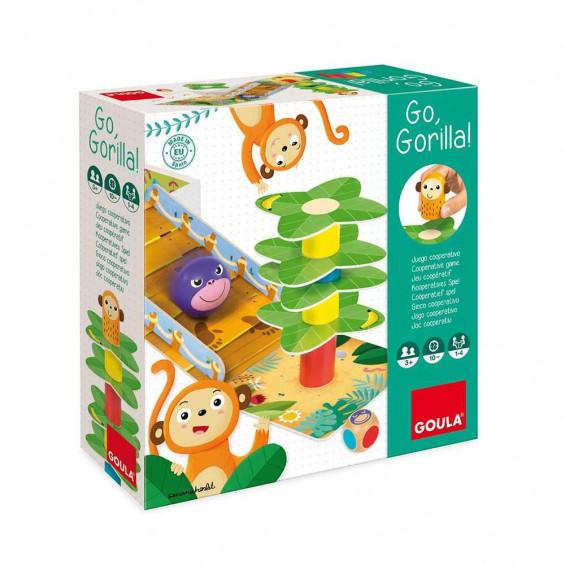 Goula Puzzle Go Gorila